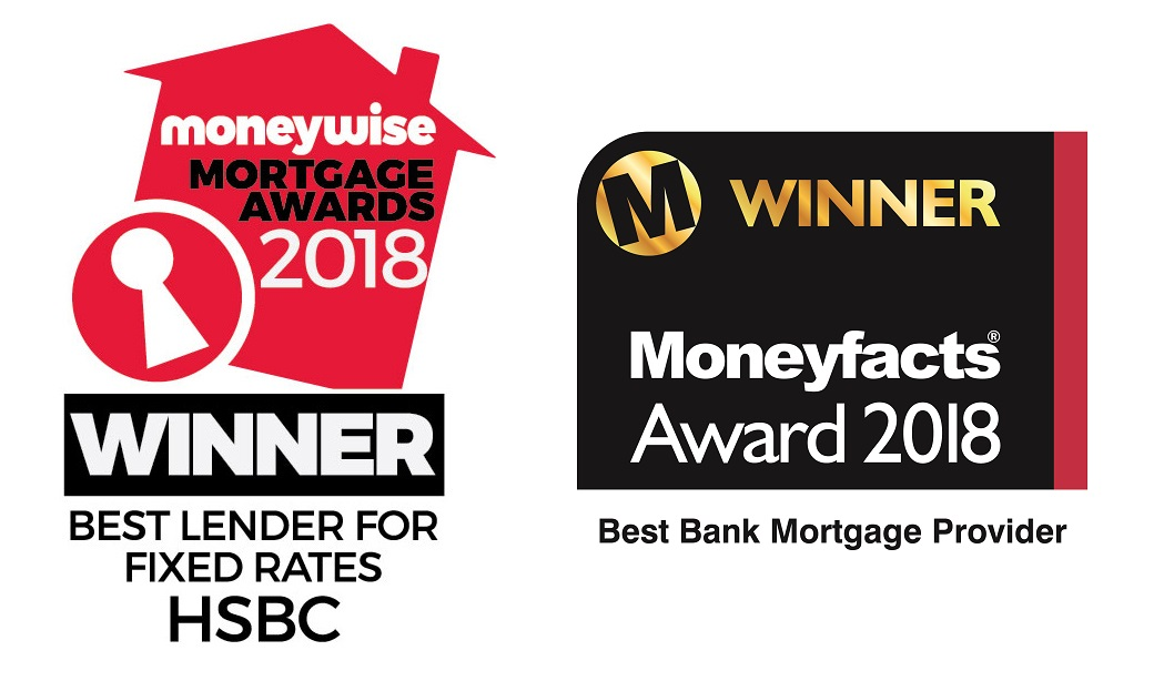 In 2018, HSBC won the Moneywise mortgage award for Best Lender for Fixed rate mortgages and Moneyfacts award for Best Bank Mortgage provider