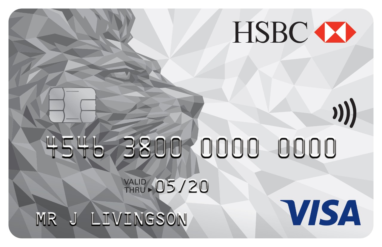 HSBC visa card