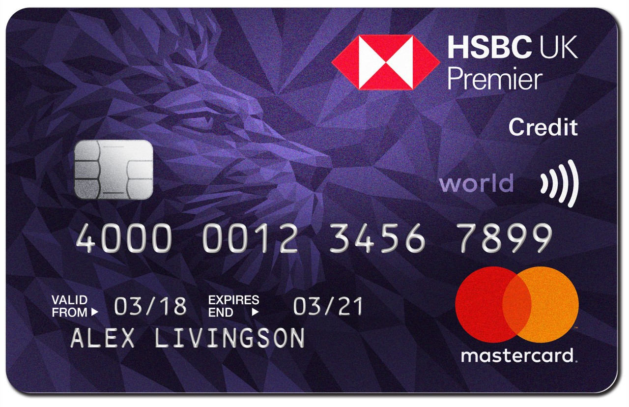 Premier Card - Points Credit Card | HSBC UK