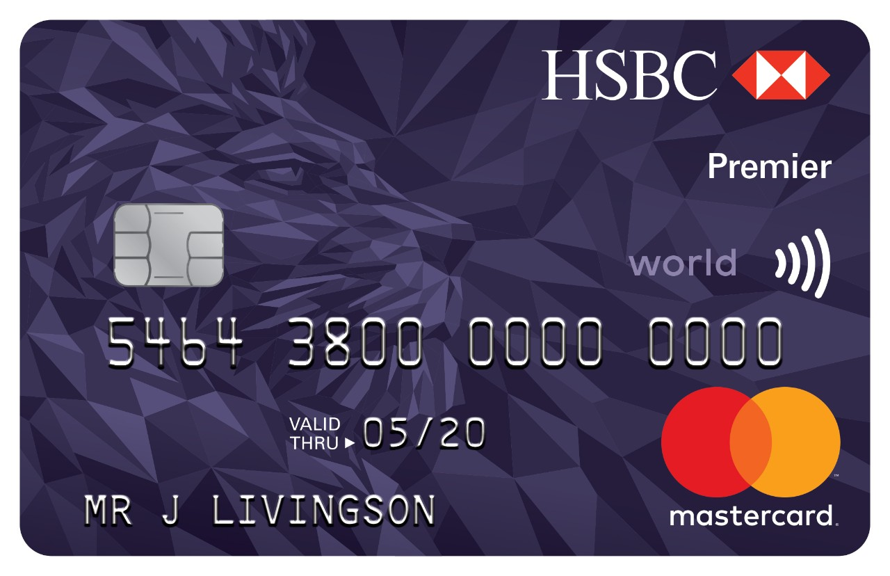 Hsbc credit card premier hsbc uk premier credit card reheart Images