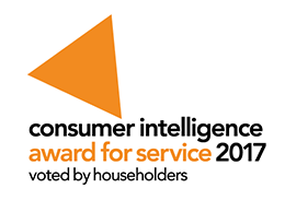 consumer intelligence award for service 2017