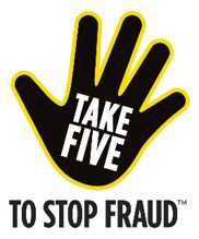 Take five to stop fraud. This link will open in a new window