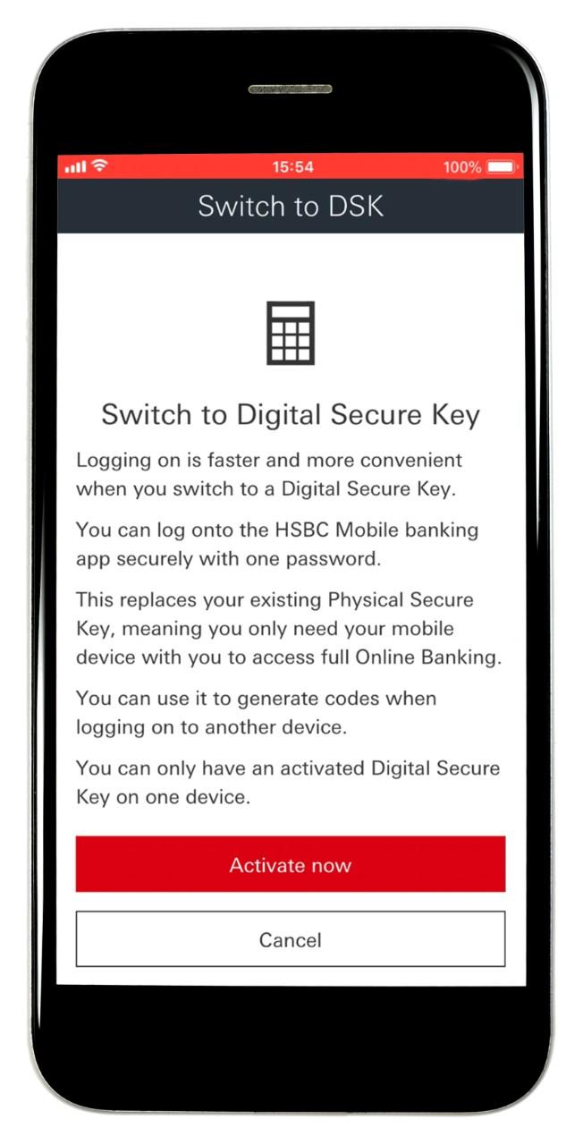 Secure Key | Security Centre - HSBC UK