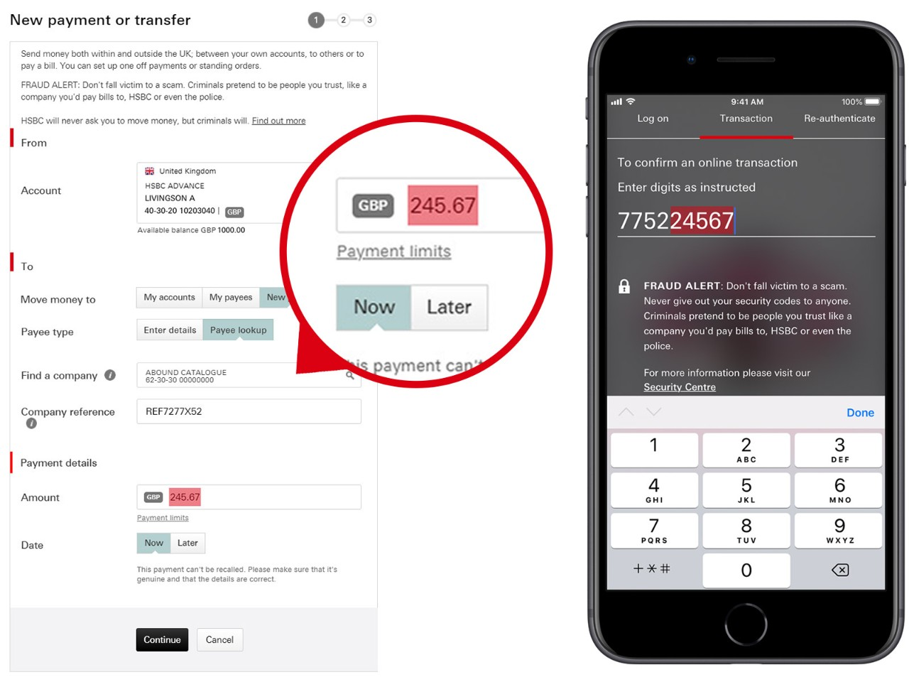 Making Payments   Contact and Support - HSBC UK